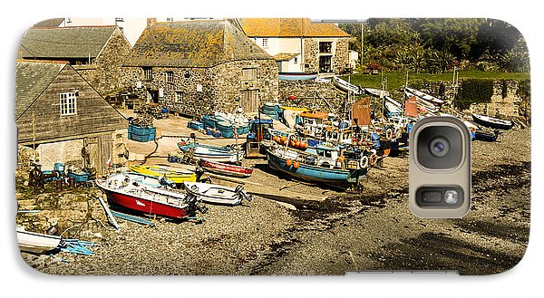 Galaxy Case featuring the photograph Cadgwith Cove by Brian Roscorla