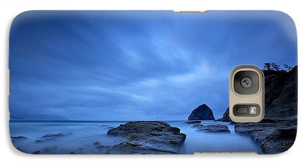 Galaxy Case featuring the photograph Cape Kiwanda by Evgeny Vasenev