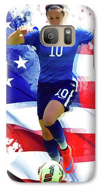Carli Lloyd Galaxy S7 Case by Semih Yurdabak