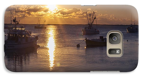 Galaxy Case featuring the photograph Chatham Sunrise by Charles Harden