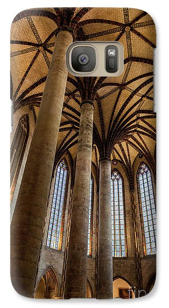 Galaxy Case featuring the photograph Church Of The Jacobins Interior by Elena Elisseeva