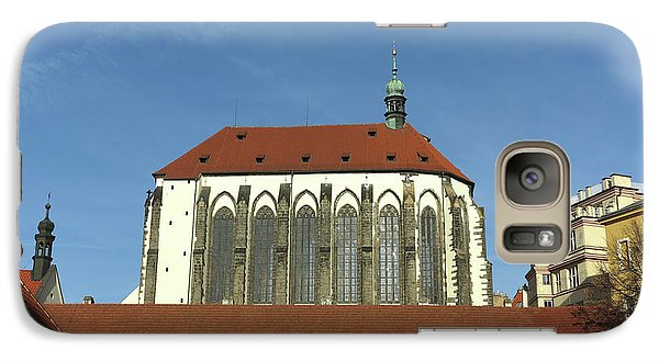 Galaxy Case featuring the photograph Church Of The Virgin Mary Of The Snow by Michal Boubin