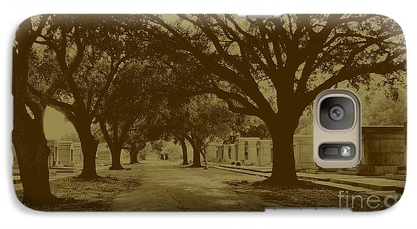 Galaxy Case featuring the photograph City Of The Dead by Janice Spivey
