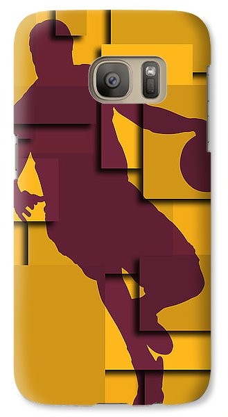 Cleveland Cavaliers Lebron James Galaxy Case by Joe Hamilton