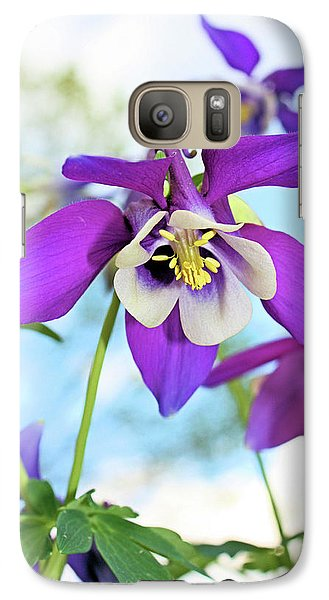 Galaxy Case featuring the photograph Columbine by Kristin Elmquist
