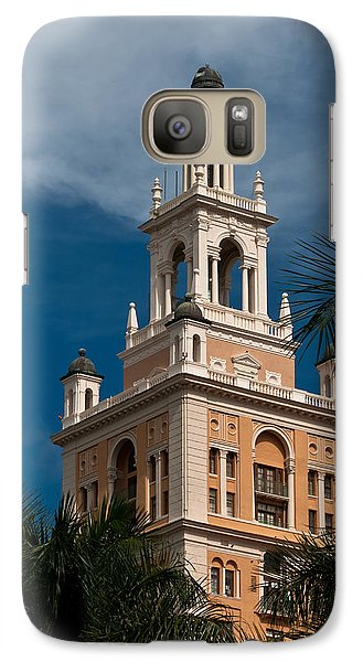 Galaxy Case featuring the photograph Coral Gables Biltmore Hotel Tower by Ed Gleichman
