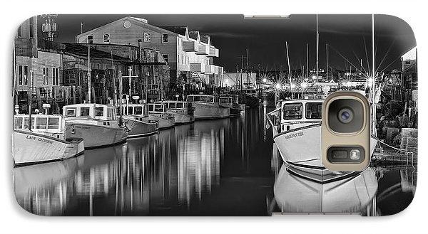 Galaxy Case featuring the photograph Custom House Wharf by Richard Bean