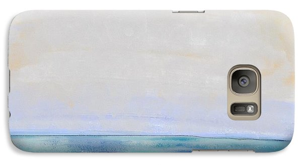 Galaxy Case featuring the digital art Day At The Beach by Paula Brown