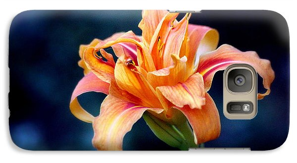 Galaxy Case featuring the photograph Day Lily by Irina Hays