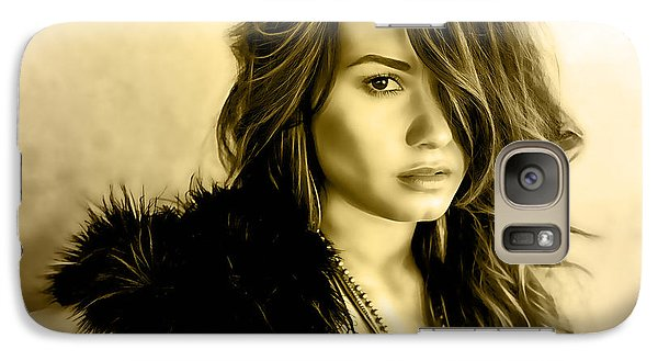 Demi Lovato Collection Galaxy Case by Marvin Blaine