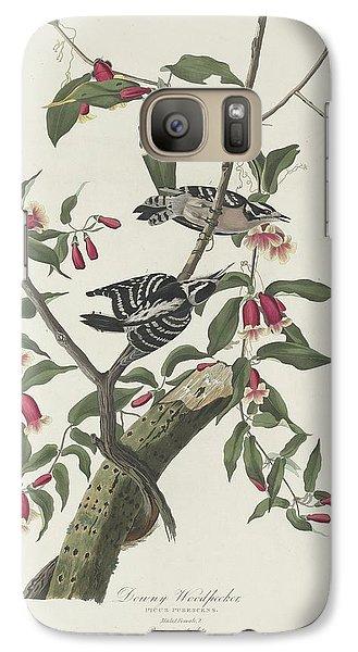 Downy Woodpecker Galaxy S7 Case
