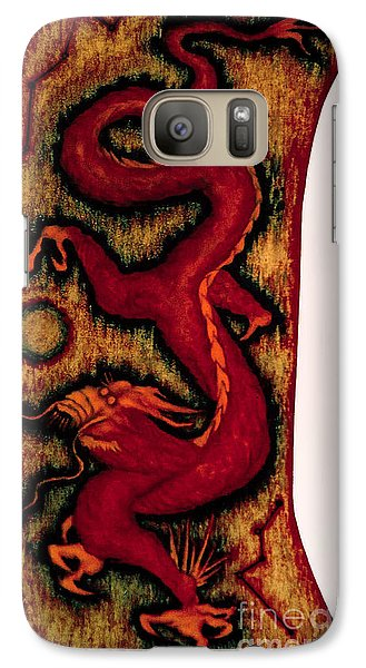 Galaxy Case featuring the painting Dragon by Fei A