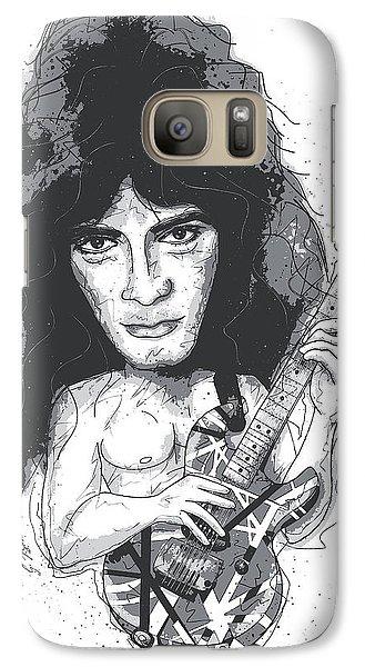 Eddie Van Halen Galaxy S7 Case by Gary Bodnar