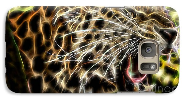 Electric Leopard Wall Art Collection Galaxy S7 Case