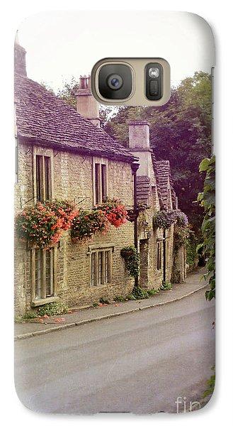 Galaxy Case featuring the photograph English Village by Jill Battaglia