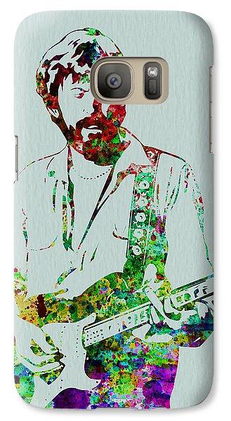 Eric Clapton Galaxy S7 Case by Naxart Studio