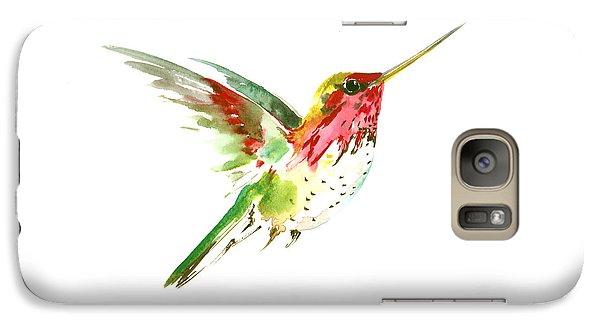 Flying Hummingbird Galaxy S7 Case by Suren Nersisyan