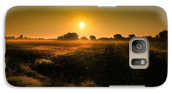Galaxy Case featuring the photograph Foggy Morning by Franziskus Pfleghart
