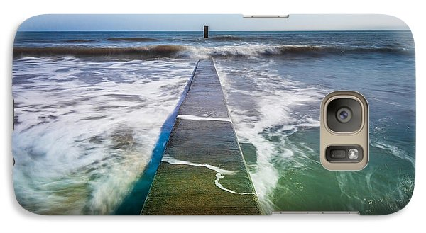 Galaxy Case featuring the photograph Folly Beach by RC Pics