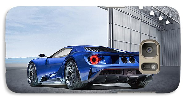 Galaxy Case featuring the digital art Ford Gt by Peter Chilelli