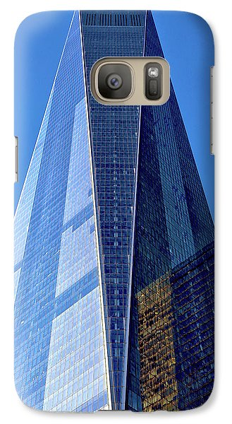 Galaxy Case featuring the photograph Freedom Tower by Mitch Cat
