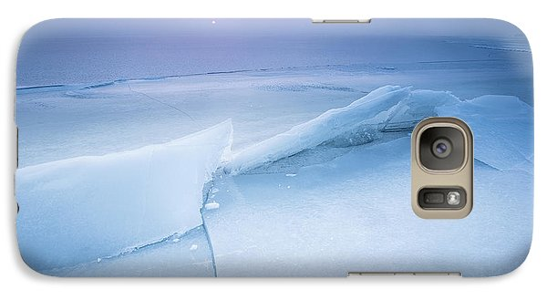 Galaxy Case featuring the photograph Frozen by Davorin Mance