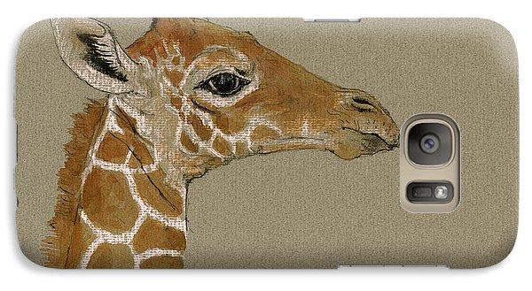 Giraffe Head Study  Galaxy S7 Case