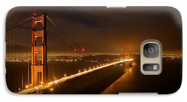 Galaxy Case featuring the photograph Golden Gate Bridge by Evgeny Vasenev