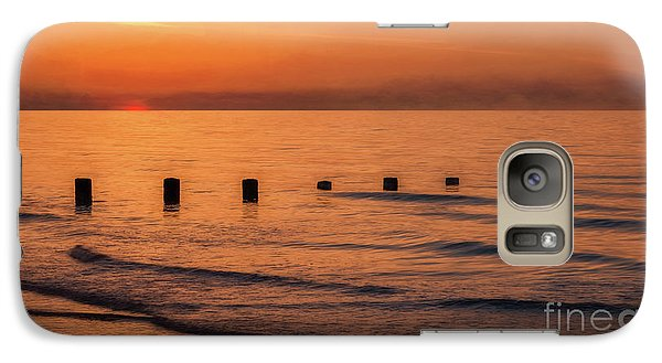 Galaxy Case featuring the photograph Golden Sunset by Adrian Evans