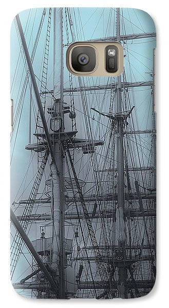 Galaxy Case featuring the photograph Gorch Fock ... by Juergen Weiss