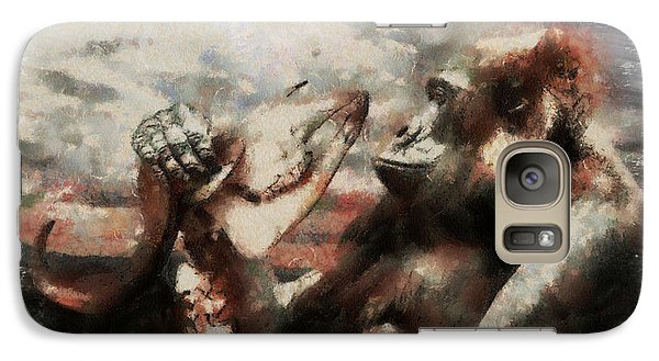 Galaxy Case featuring the photograph Gorilla  by Christine Sponchia