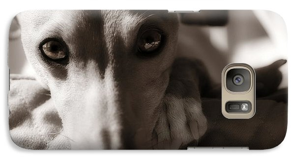 Galaxy Case featuring the photograph Heart You by Angela Rath