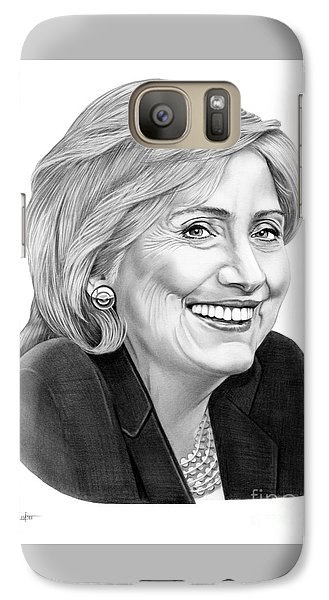 Hillary Clinton Galaxy S7 Case by Murphy Elliott