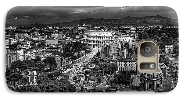 Galaxy Case featuring the photograph Il Colosseo by Sonny Marcyan