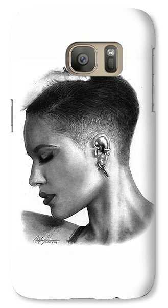Galaxy S7 Case - Halsey Drawing By Sofia Furniel by Jul V