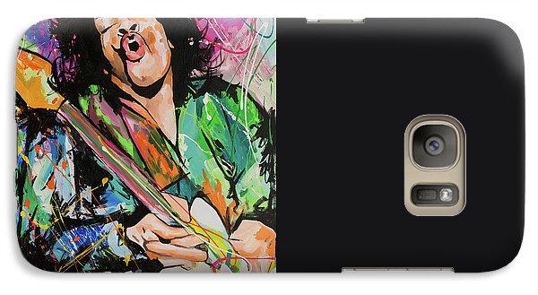 Jimi Hendrix Galaxy Case by Richard Day