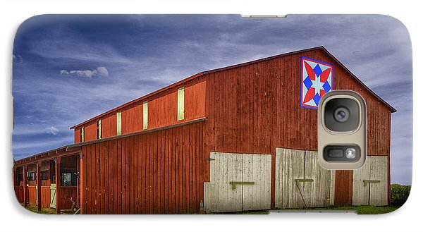 Galaxy Case featuring the photograph Kentucky Quilt Barn by Wendell Thompson