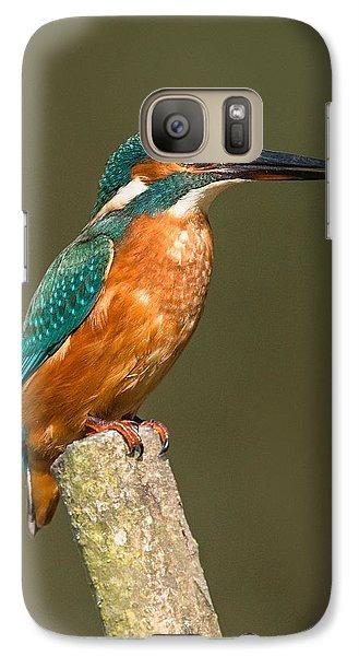 Kingfisher Galaxy S7 Case - Kingfisher by Ian Hufton