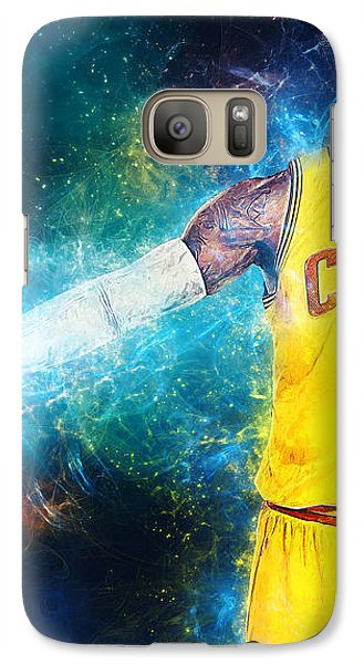 Lebron James Galaxy Case by Taylan Apukovska