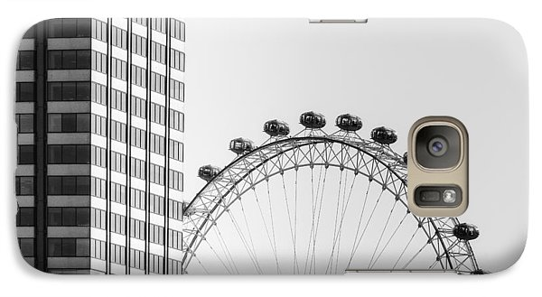 London Eye Galaxy S7 Case - London Eye by Joana Kruse