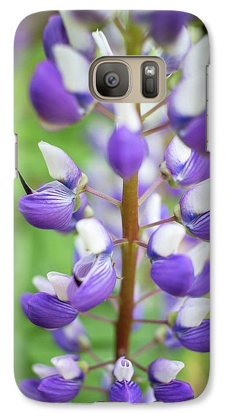 Galaxy Case featuring the photograph Lupine Blossom by Robert Clifford