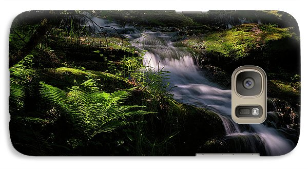 Lynn Mill Waterfalls Galaxy S7 Case