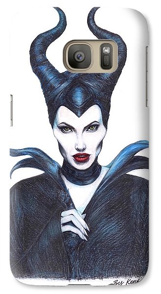 Maleficent  Once Upon A Dream Galaxy S7 Case by Kent Chua