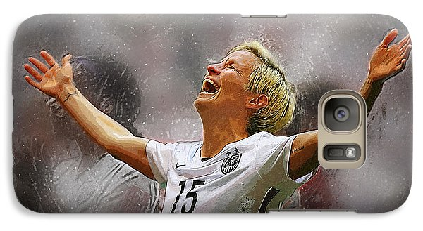 Megan Rapinoe Galaxy S7 Case by Semih Yurdabak