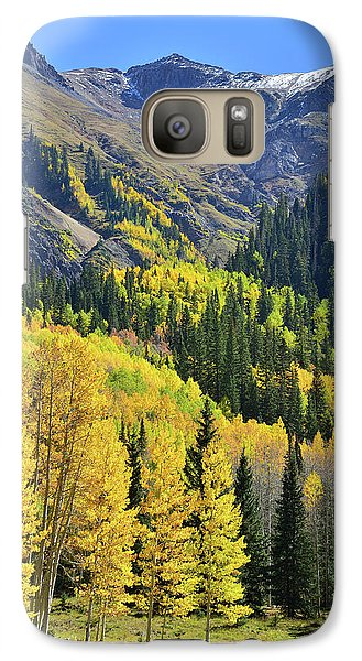 Galaxy Case featuring the photograph Million Dollar Highway  by Ray Mathis