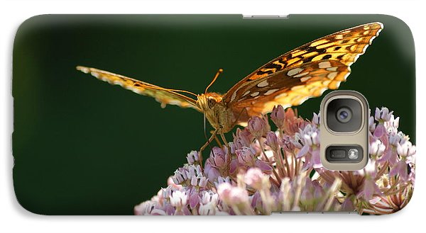 Galaxy Case featuring the photograph Monarch Butterfly by Heidi Poulin