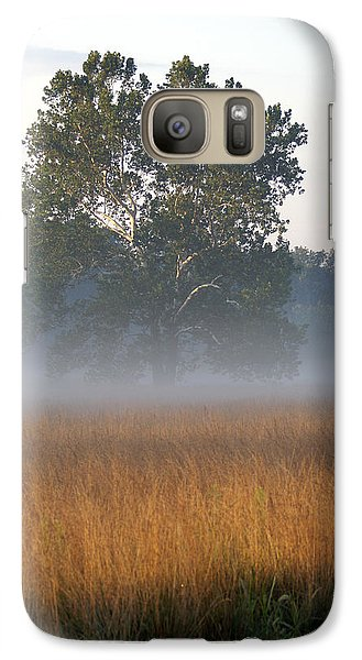 Galaxy Case featuring the photograph Morning Mist by Heidi Poulin
