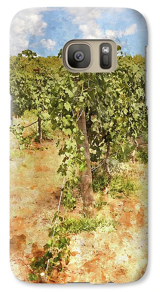 Napa Vineyard In The Spring Galaxy S7 Case