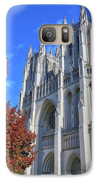 Galaxy Case featuring the photograph National Cathedral by Mitch Cat