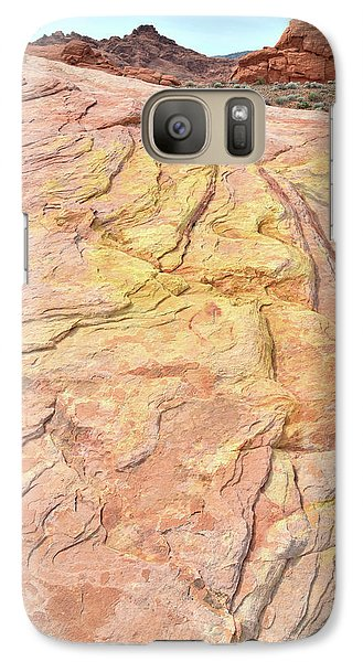 Galaxy Case featuring the photograph North Valley Of Fire by Ray Mathis